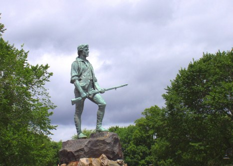 Minute Man Statue Lexington Massachusetts
