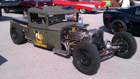 Rat Rod Bad Company Wwii Bomber Style 1 With A Bullet