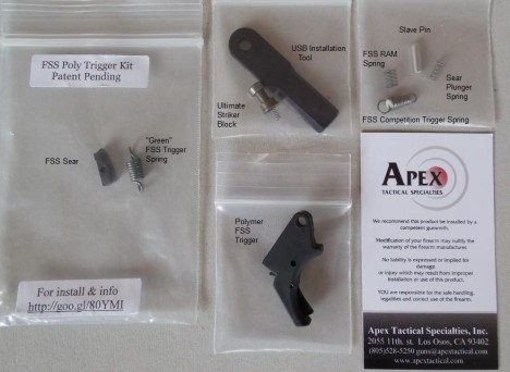 Apex Tactical Polymer Trigger FSS kit
