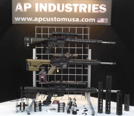 AP Industries, makers of excellent superlight carbon fiber handguards and shotgun speedloaders
