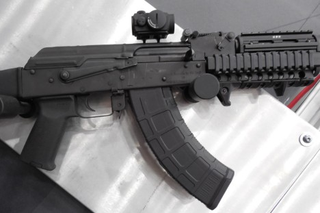 Magpul's new AK magazine and pistol grip (with handstop)