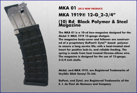 New 10 round magazine for MKA1919 from ProMag