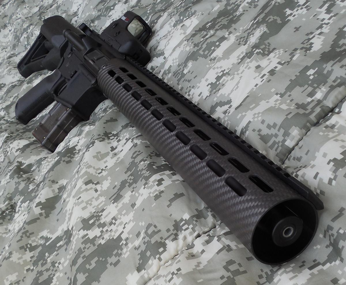 Ar 15 1 With A Bullet