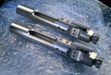 Nickel boron plated bolt carrier groups from R-Guns